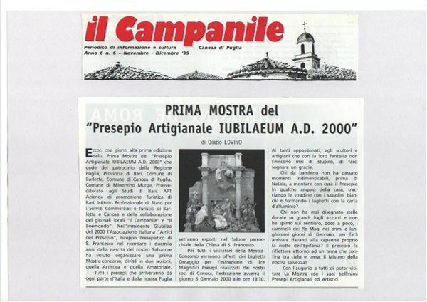 DICONO DI NOI CANOSAPRESEPI 1