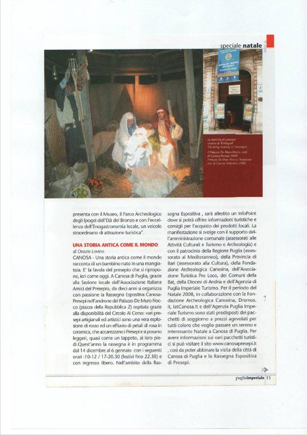 DICONO DI NOI CANOSAPRESEPI 17
