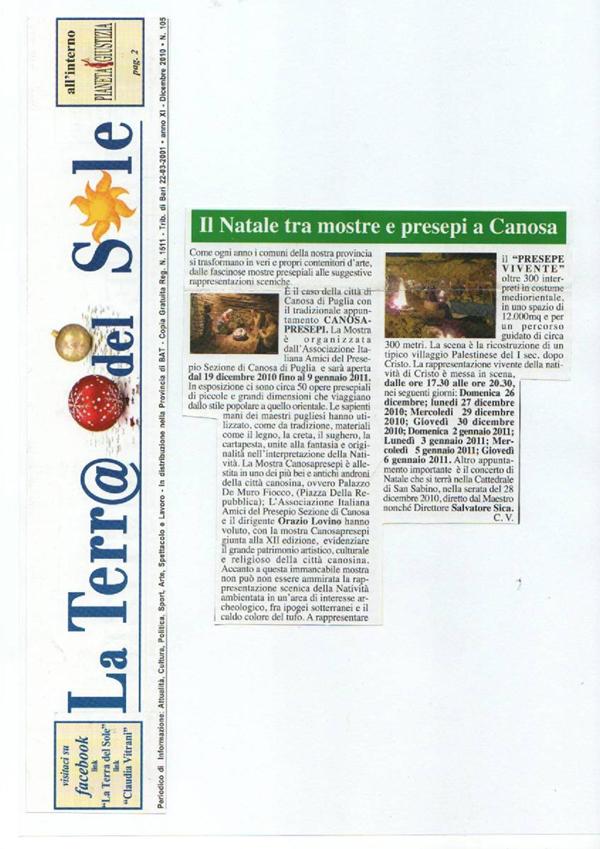 DICONO DI NOI CANOSAPRESEPI 25