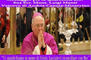 Messaggio Quaresima 2017 Mons.Luigi Mansi.1